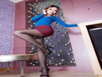 haruki 2黑色褲襪,蕾絲丁字褲,張開雙腿等你來熟っ子倶楽部 高齢熟女 白鳥祥子